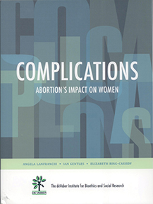 Rigorously researched and scientifically documented, Complications: Abortion's Impact on Women examines the role of abortion in almost every aspect of women's health: depression, infertility, autoimmune disease, cancer, and intimate partner violence, to name a few.