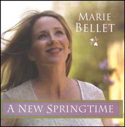 Often lighthearted, always thought provoking lyrics describe the details of our modern lives and enkindle hope in new beginnings. Outstanding Nashville musicians cradle Marie's voice in a light mixture of bluegrass, jazz and folk as she reminds us of our capacity to love. A New Springtime is dedicated to John Paul II and the new springtime he foretold.