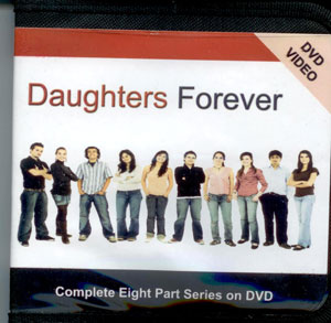 "Three talks on DVD supporting the ""Daughters Forever"" sexuality education program. For daughters; also available on CD."